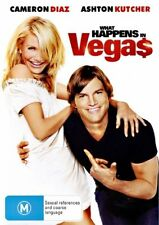 What Happens in Vegas (2008) Cameron Diaz, Ashton Kutcher - NEW DVD - R4