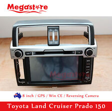 "8"" Car Radio CD DVD Player  GPS For Toyota Land Cruiser Prado 150 2013-2015"