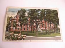 VINTAGE POSTCARD LEE COUNTY MEMORIAL HOSPITAL SANFORD NC