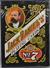 #7765 - Set of 5 - Jack Daniels Playing Cards - Sealed in Original Plastic