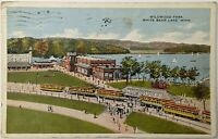 Aeroplane View WILDWOOD PARK WHITE BEAR LAKE MINNESOTA Antique Postcard