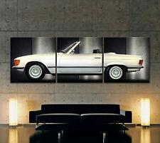 Mercedes-Benz Sl W107 Lienzo Imagen Artística R107 Roadster 280 380 300 450 500