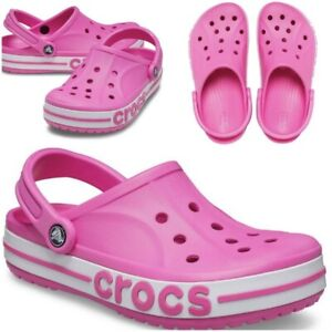 Crocs Bayaband Clog Men's Size 9 / Women's Size 11 Electric Pink 205089-6QQ