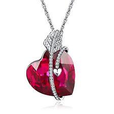 Birthday Anniversary Gift For Women Mothers Day Girls Necklace Pendant Swarovski