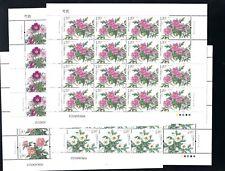 CHINA 2019-9  芍药 FULL S/S Peony Flower stamp