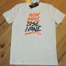Under Armour Win Some Lose None tee shirt NWT boys' L YLG white
