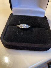 Cz Ring White Gold