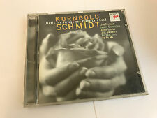 Korngold/Schmidt: Works for Strings and Piano CD (1998) MINT UNPLAYED