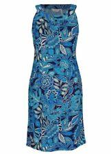 Regular Size Floral Polyester Shift Dresses for Women