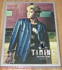 KIM HYUN JOONG HYUNJOONG Timing 4TH MINI ALBUM K-POP CD + POSTER SEALED