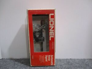 Lionel #6-2140 Automatic Banjo Signal 1970's Works