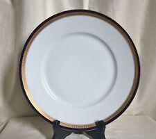 Rosenthal-Selb  dinner plate.Cobalt Blue+ Encrusted band stylized leaves.1518