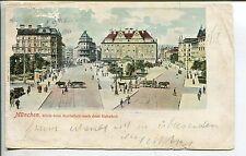 Frankierte Ansichtskarten aus Deutschland mit dem Thema Eisenbahn & Bahnhof