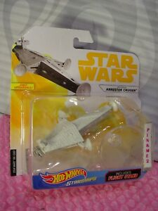 First Appearance STAR WARS Starships IMPERIAL ARRESTOR CRUISER🎬HOT WHEELS🎬SOLO