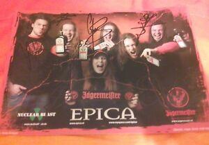 Epica / Signed /Autografo / Simone Simons /
