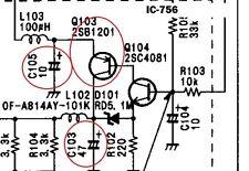 Icom IC-746 series/IC-7400-Display Backlight Repair Kit-EASTERN US Shipping FAST