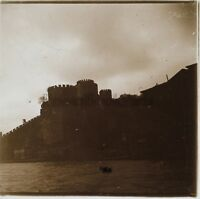 Costantinopoli Turchia Foto C8 Placca Da Lente Stereo Vintage 1926
