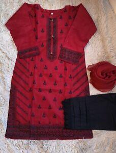 Asian Indian Pakistani Ready Made Suit Salwar Kameez shalwar