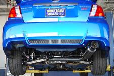 Invidia N1 76mm Cat-back Exhaust w/ 101mm Titanium Tip for 08-14 WRX Sedan