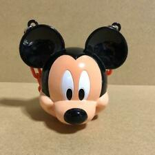 Tokyo Disney Resort Mickey Mouse Face Mini Snack Case Limited with red chain