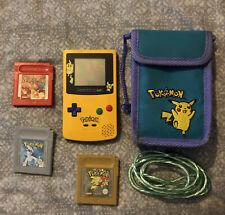 pikachu gameboy colour Bundle