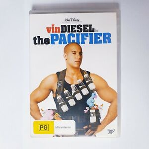 The Pacifier Movie DVD Region 4 AUS Free Postage - Comedy Vin Diesel