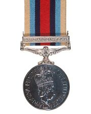 Official Afghanistan FULL SIZE Medal , OSM , with Clasp Bar and Ribbon
