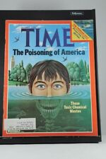 Time Magazine Sept 22 1980 The Poisoning of America: Toxic Chemical Waste