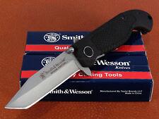 SWTAC - Couteau SMITH&WESSON Special Tactical Acier 440C Tanto