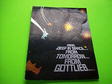 Gottlieb BUCK ROGERS Original 1979 NOS Pinball Machine Promo Flyer Glossy Vers.