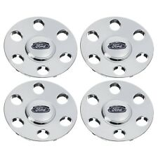 2007-2010 Ford Expedition Chrome Wheel Cover Center Hub Caps Set Of 4 OEM NEW