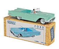 Les miniatures de NOREV CL2711 - Ford Thunderbird 1960 Adriatic Green 1/43