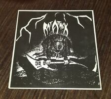 Rat Attack old metal records late 90s reissue of 1983 demo heavy power 300 only
