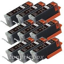 9 Pk PGI-250XL PGI250 XL BK Ink For Canon Pixma MG5420 MG5520 MG6320 MX722 MX922