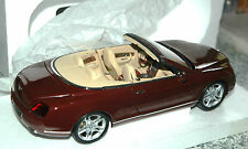 Bentley Continental GTC Minichamps 1:18   RED/ROUGE