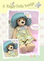 DELORES BEAR - Sewing Craft PATTERN - Jointed Bear Pattern