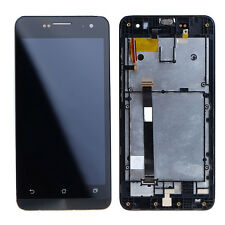 For Asus Zenfone 5 Frpnt Touch Screen Digitizer LCD Display Assembly+Frame Black