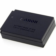 Canon LP-E12 Battery For EOS 100D M10 M50 M100 Kiss X7 Rebel SL1