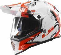 LS2  MX436 Pioneer Trigger Motorrad Helm Gr.L   Fb.sw/ws/rt  UVP 169,00