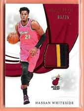 2018-19 IMMACULATE HASSAN WHITESIDE 3 COLOR PATCH 05/25!!