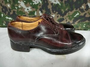 British Army Military Officer's Tapped Hobnailed Brown Parade Dress Shoes 9