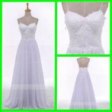 Lace Boho Satin Wedding Dresses