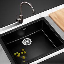 Cefito SINK-STONE-6147 Kitchen Sink - Black
