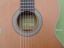 Edle 4/4 Spanische Konzert-Gitarre A. Esteban 10M Zeder massiv Handarbeit Top!