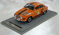 SAAB 96 V4 2nd SWEDISH RALLY 1976 BLOMQVIST-SYLVAN 1/18 TECNOMODEL 75 Pc only