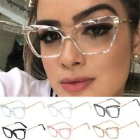 Fashion Sexy Cat Eye Womens Eyeglasses Frame Retro Spectacles Clear Lens Glasses