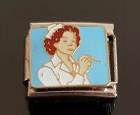 Nurse Italian Charm Bracelet Charms Link