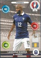 PANINI EURO 2016 ADRENALYN XL CARD- #126-FRANCE-LASSANA DIARRA