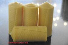 4x Velas Cera de abeja XXL 100% 150 x 65mm hecho a mano AUS D