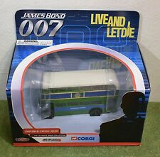 JAMES BOND 007 CORGI TY06102 DOUBLE BECK BUS LIVE AND LET DIE